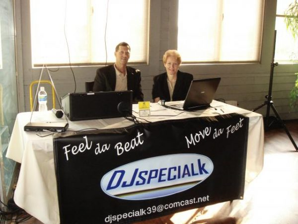 Booth with DJ Special K