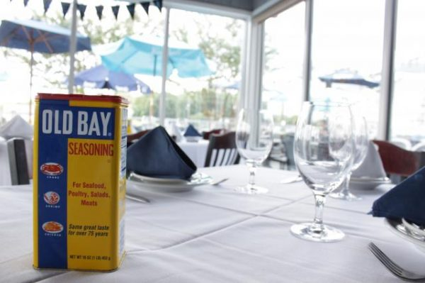 Large can of Old Bay