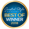 Coastal Style Magazine Best of Winner 2016 Badge